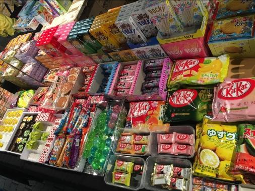 Des friandises japonaises
