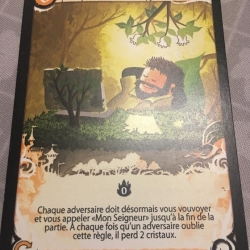 """Carte """"Nieder"""" ;-)"""
